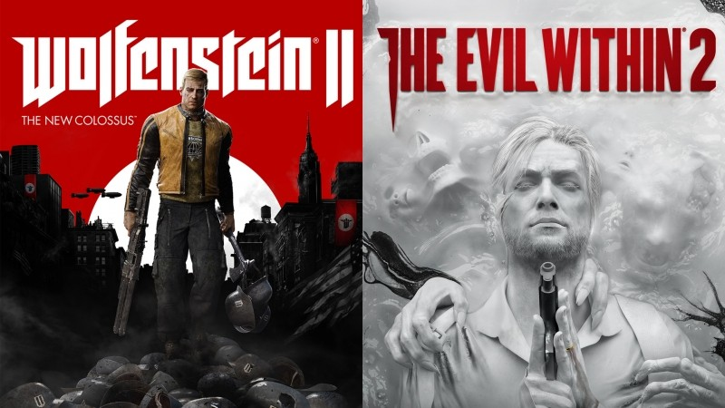 Préco The Evil Within 2 et Wolfenstein The New Colossus